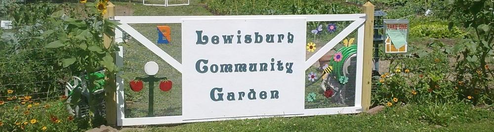 Lewisburg Community Garden